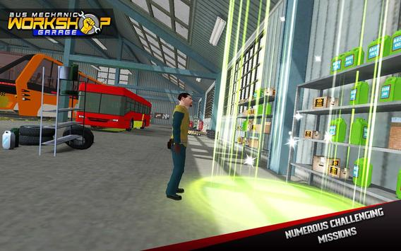 Bus Mechanic Workshop Garage screenshot 11