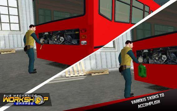 Bus Mechanic Workshop Garage screenshot 1
