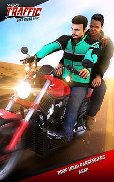 Crazy Traffic Bike Rider 2017 poster