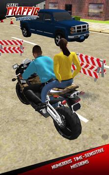 Crazy Traffic Bike Rider 2017 apk screenshot