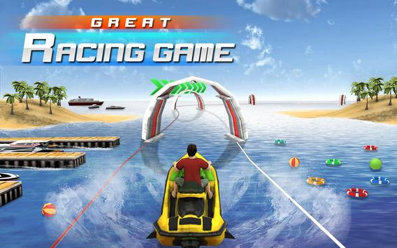 Jet Ski Racer poster