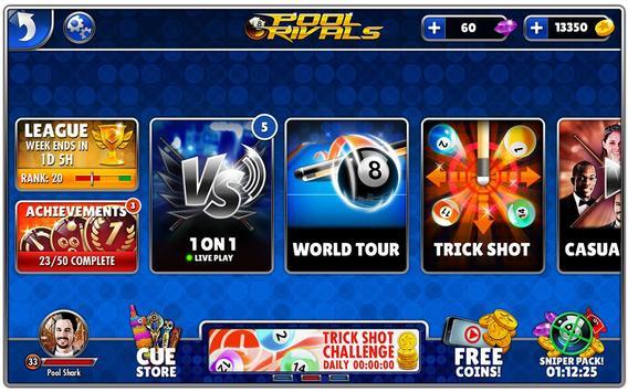 Rivales de billar™ captura de pantalla 5