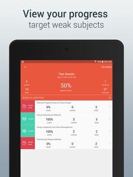 Group Fitness Exam Prep 2015 apk screenshot