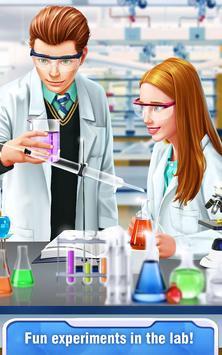 High School Science Girl Salon apk screenshot