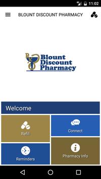 Blount Discount Pharmacy poster