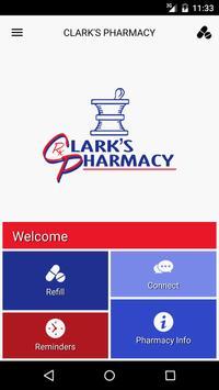 Clark's Pharmacy poster