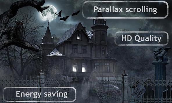 Horror House Live Wallpaper apk screenshot