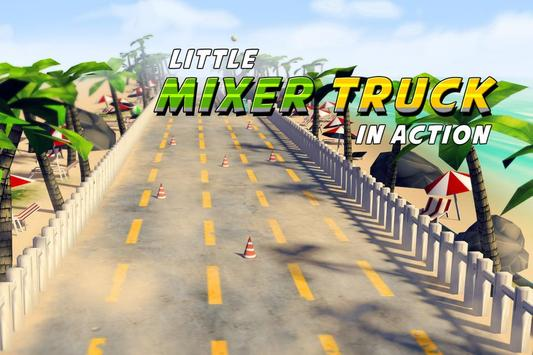 Little Mixer in Action Free poster