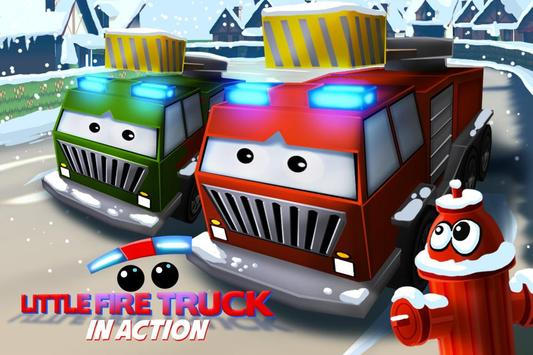 Little Fire Truck in Action poster