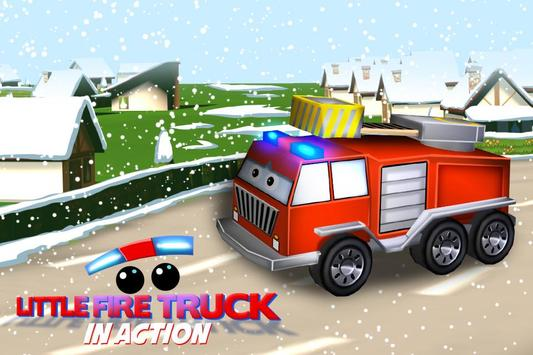 Little Fire Truck in Action screenshot 1
