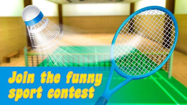 Badminton Legend Super Championship 3D poster