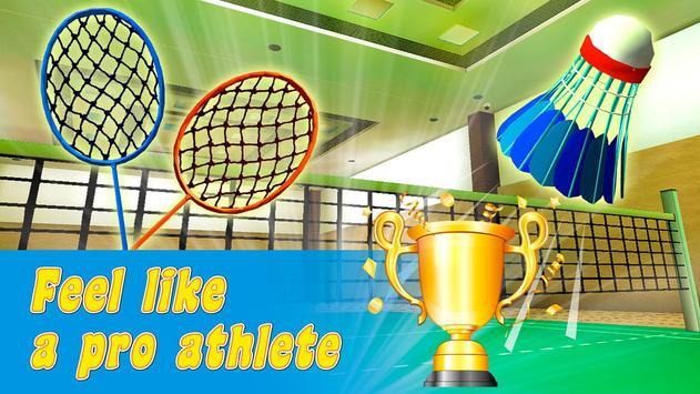 Badminton Legend Super Championship 3D screenshot 1