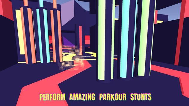 VR Parkour 360 - Cardboard Running Game screenshot 1