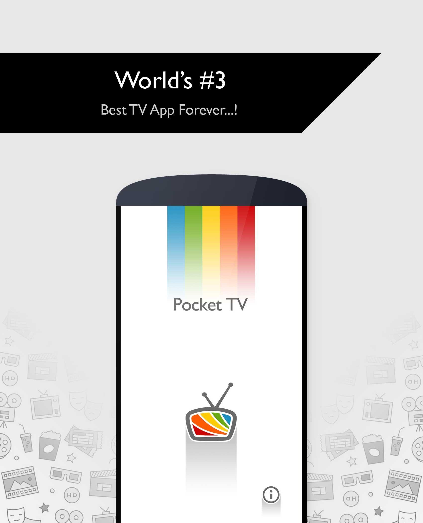 Pocket TV - Live Sports   News   Movies Free for Android
