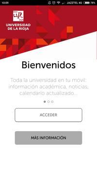 Universidad de La Rioja poster
