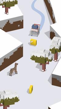 Silly Slide -- Retro 3D Arcade apk screenshot
