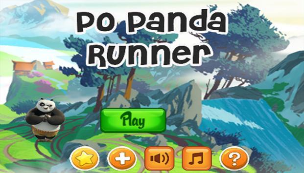 Po Panda Runner screenshot 1