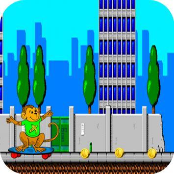 Monkey Skater Surfers Of Run screenshot 1