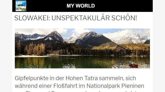 My World poster