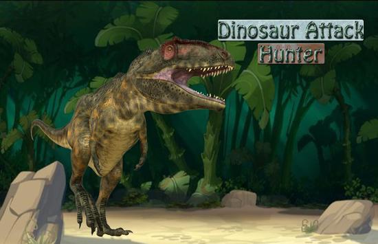 Dinosaur Hunter Hd poster