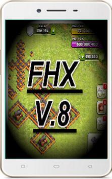 FHX V.8 COC 2017 apk screenshot