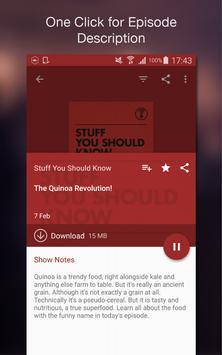 Podcast Player apk screenshot