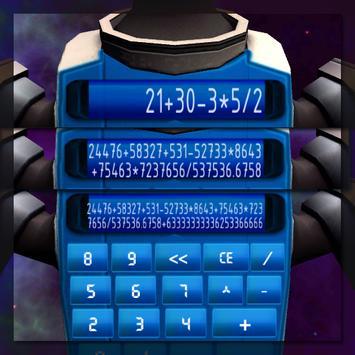 Robot Calculator screenshot 1