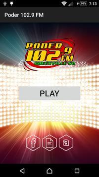 Poder 102.9 FM poster