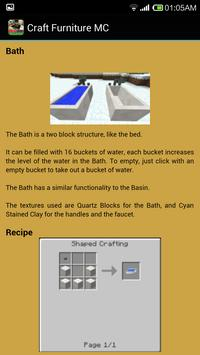 Craft Minecraft Furniture screenshot 5