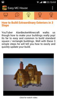 Build Minecraft House Easy screenshot 3