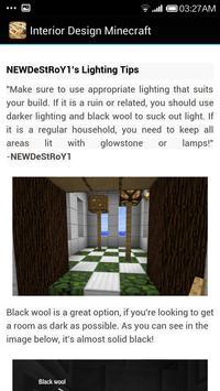 Guide Minecraft InteriorDesign screenshot 2