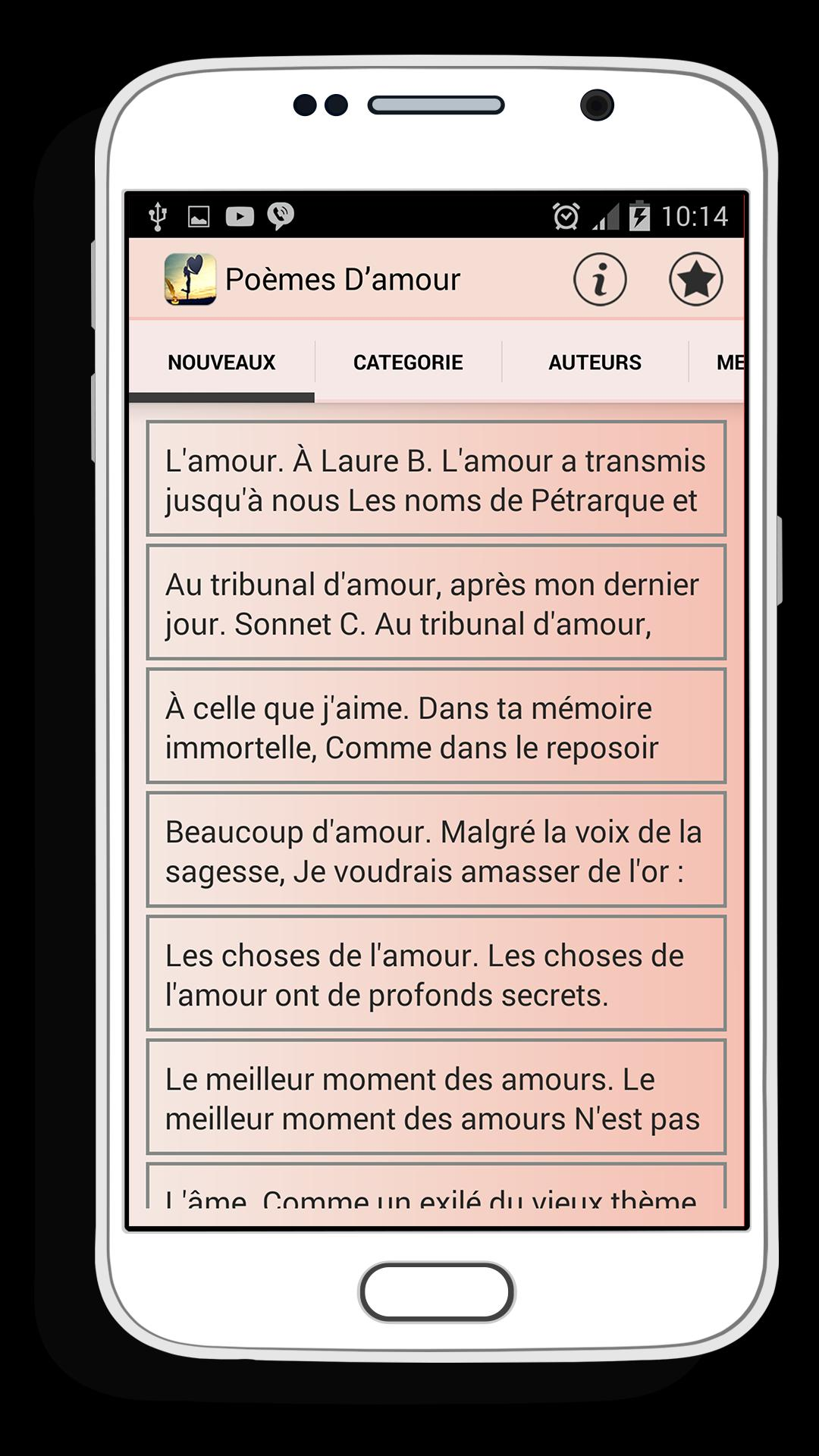 Poème Damour For Android Apk Download