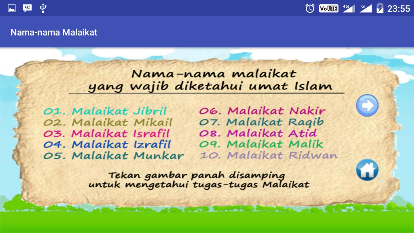 10 Malaikat Allah For Android Apk Download