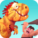 Dino Bash - Dinosaurs v Cavemen Tower Defense Wars APK