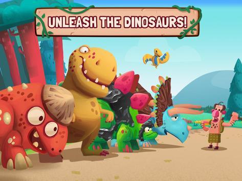 Dino Bash screenshot 1