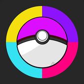Pokeball Color icon