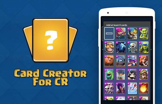 Card Creator for CR poster