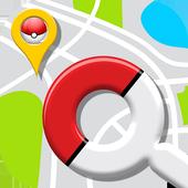 Map for Pokemon Go: PokeMap icon