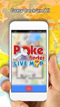 Map for Pokemon Go: PokeMap poster