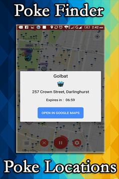 Poke Finder Maps Worldwide apk screenshot