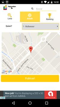 Poke location GO screenshot 2