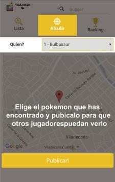 Poke location GO screenshot 4