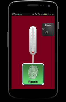 Body Fever Thermometer Prank apk screenshot