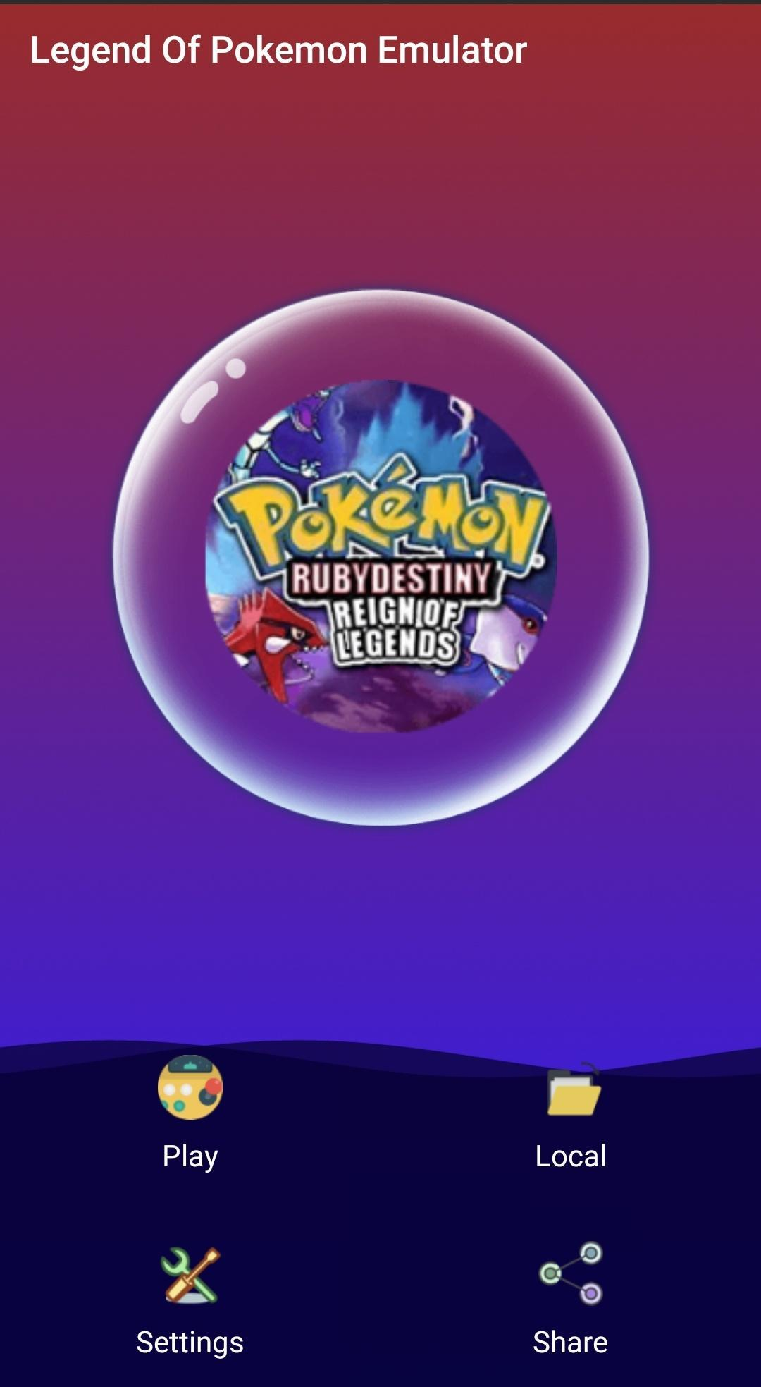 Pokemon Emulator Android