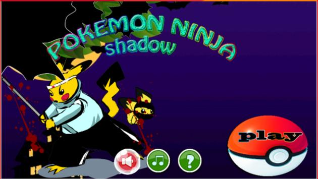 Pikachu Ninja adventure apk screenshot