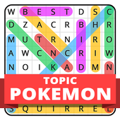 Word Search Topic For Pokemon icon