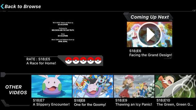 Pokémon TV apk screenshot