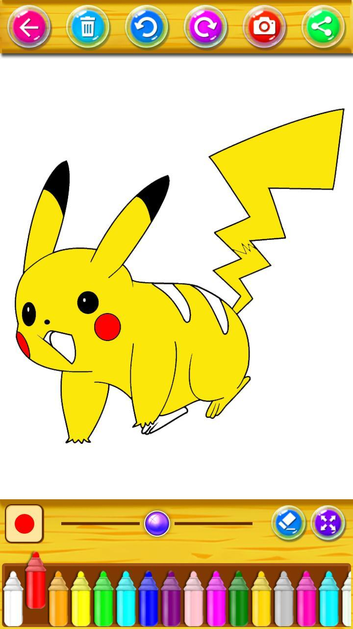 Coloring Book For Pokemon For Android APK Download