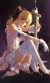Anime Girl Wallpaper HD poster