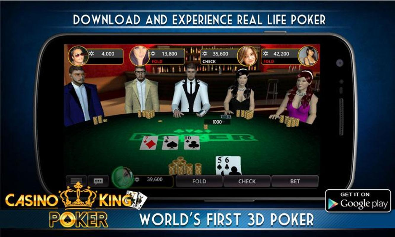 Poker 3d live and offline for android apk download.